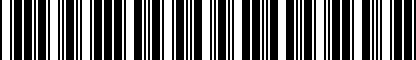 Barcode for 175820615