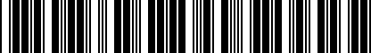 Barcode for 5M0035724