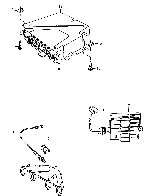 Volkswagen Jetta Oxygen Sensor Control Module