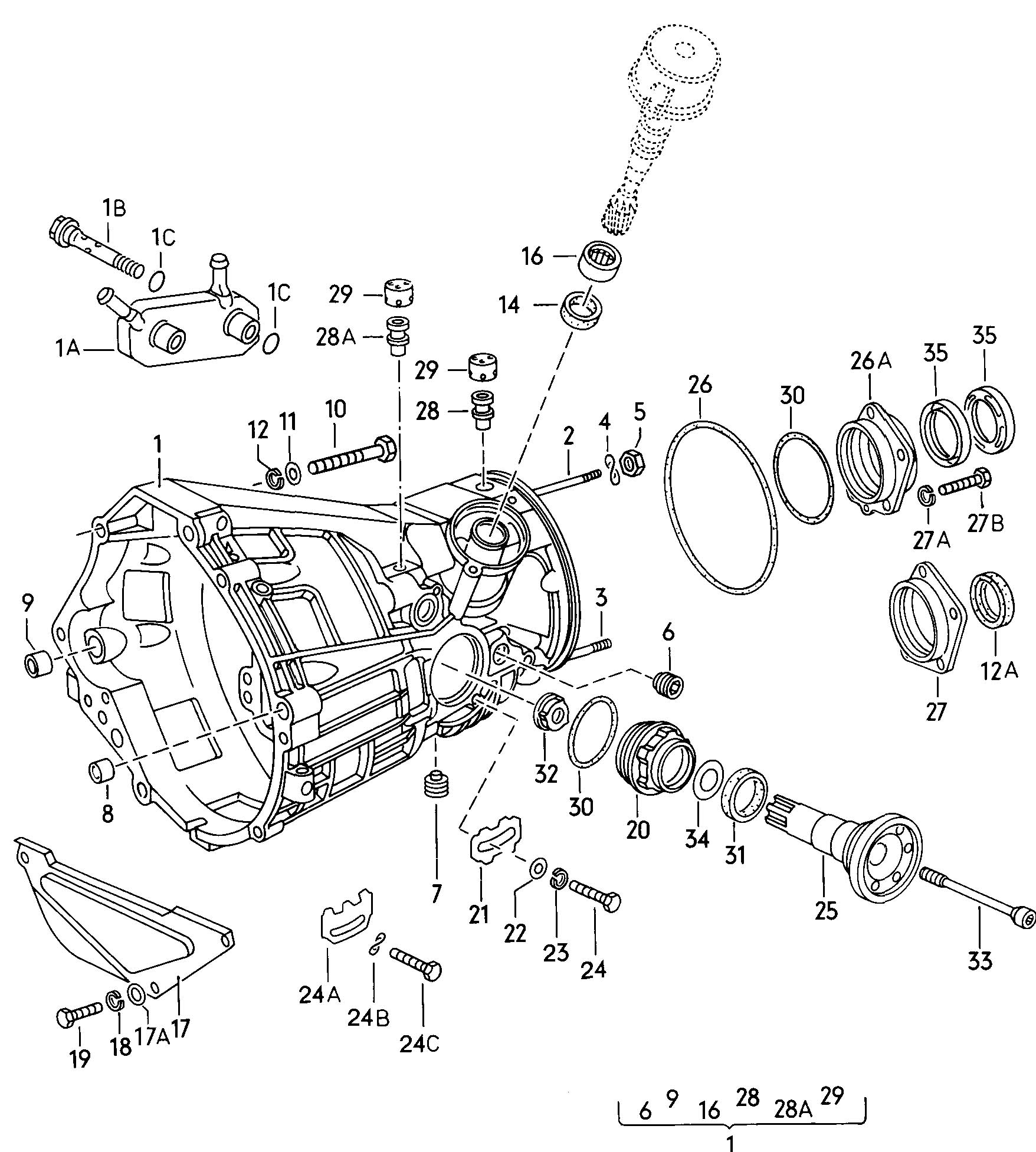 volvo xc90 radiator hose diagram