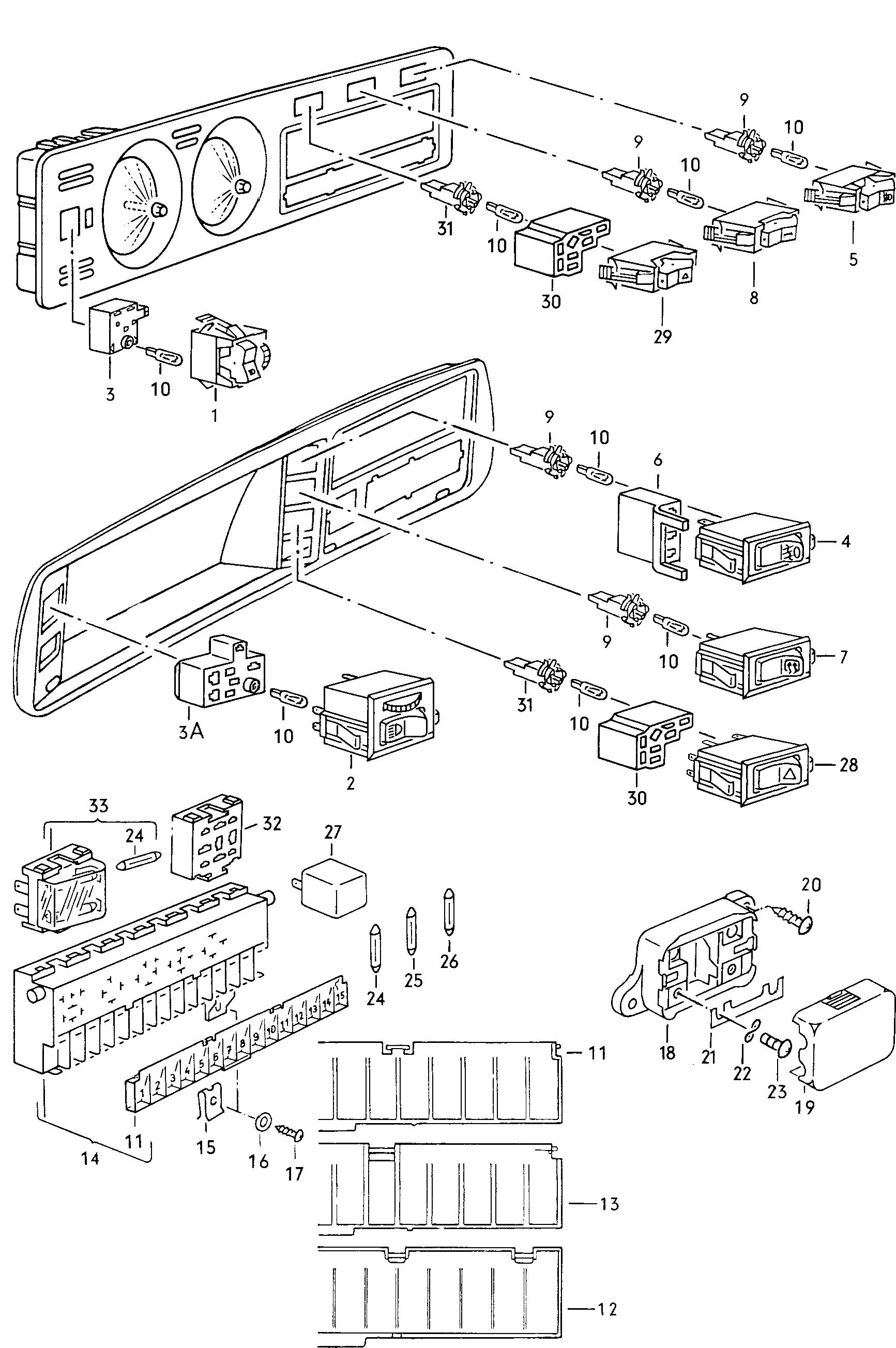 2014 tiguan fuse box diagram