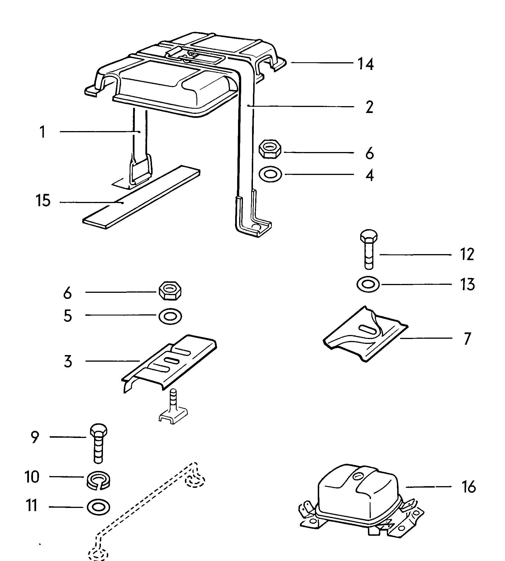 1972 vw beetle parts images