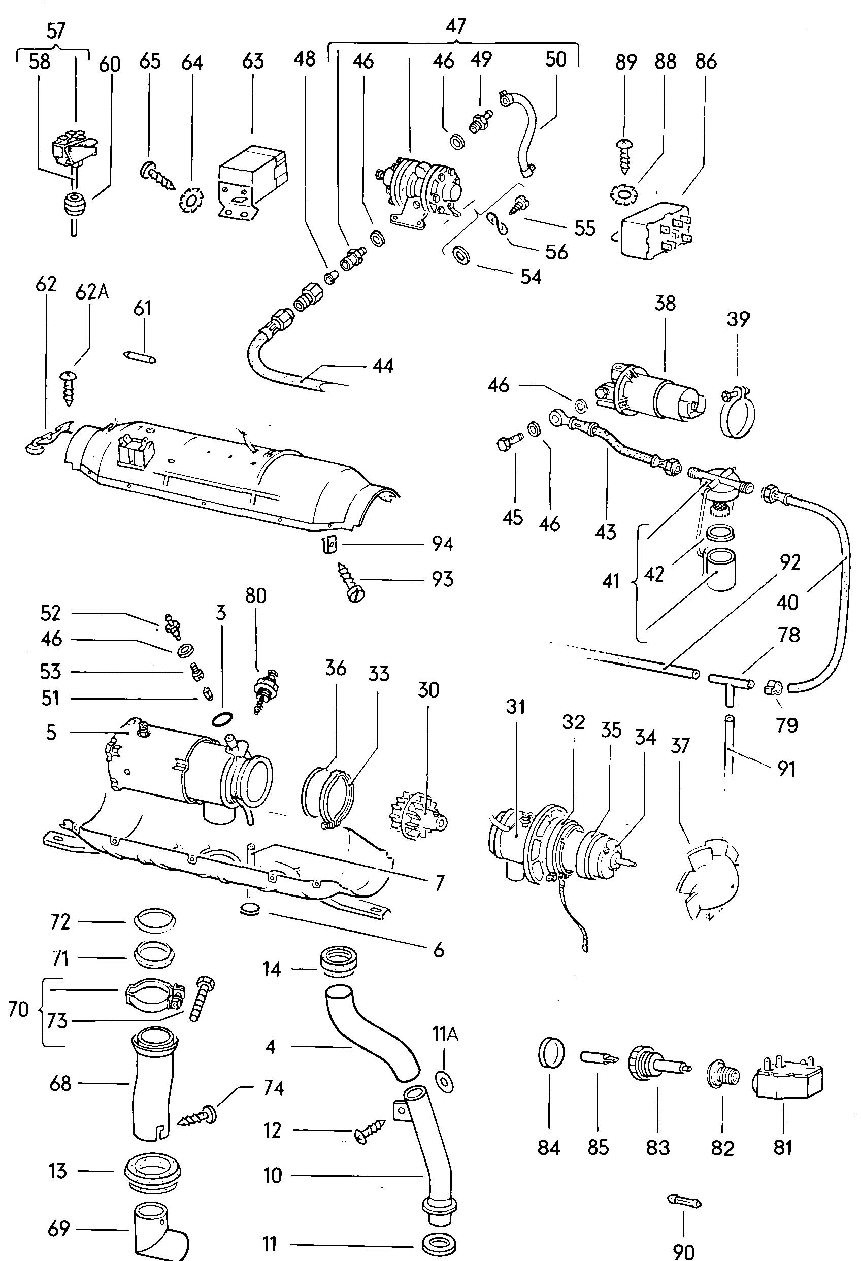 2010 volkswagen tiguan fuse box diagram