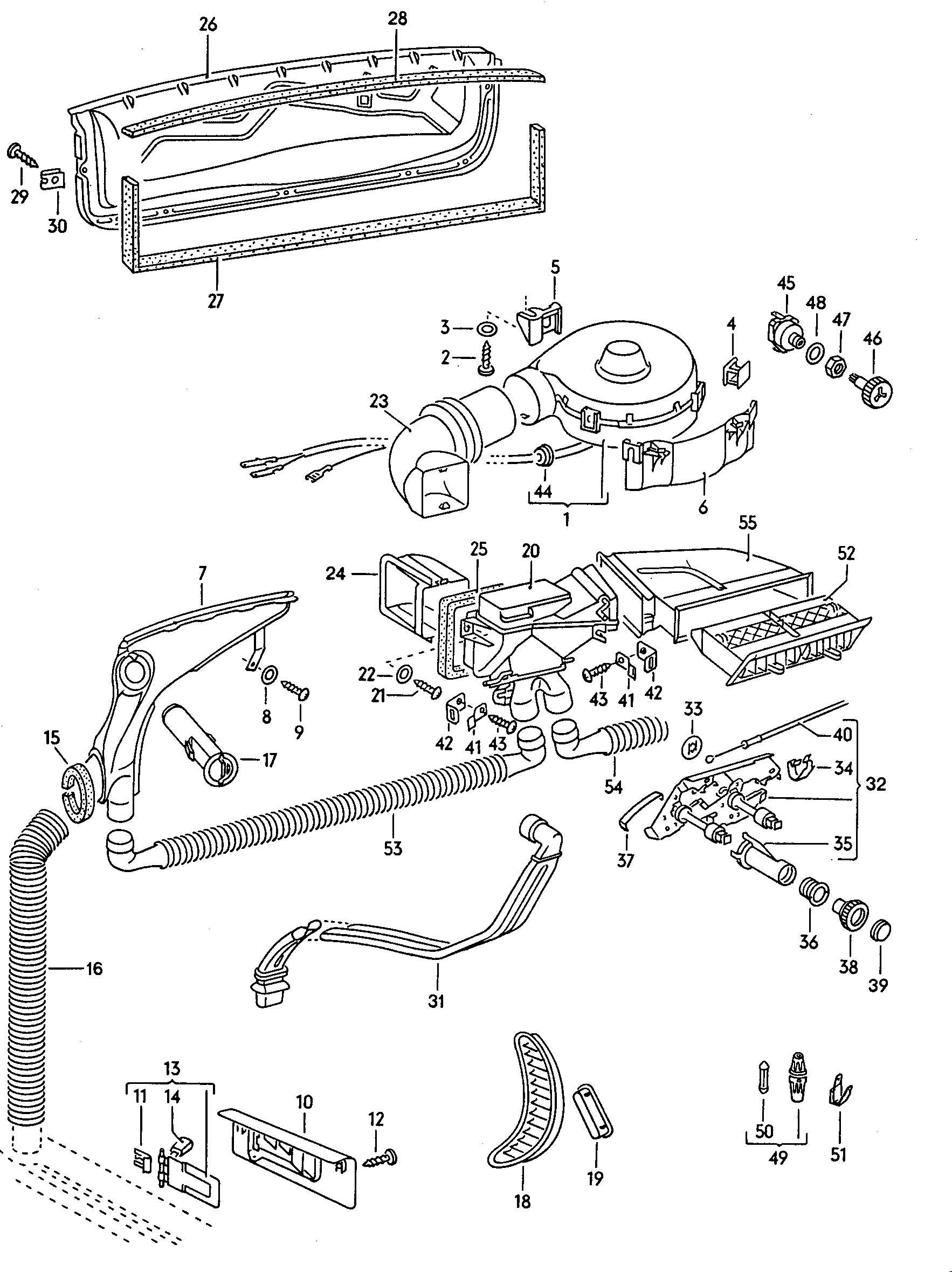 1974 Volkswagen Beetle Electric Fan Motor  Blower Motor  Blower Fan