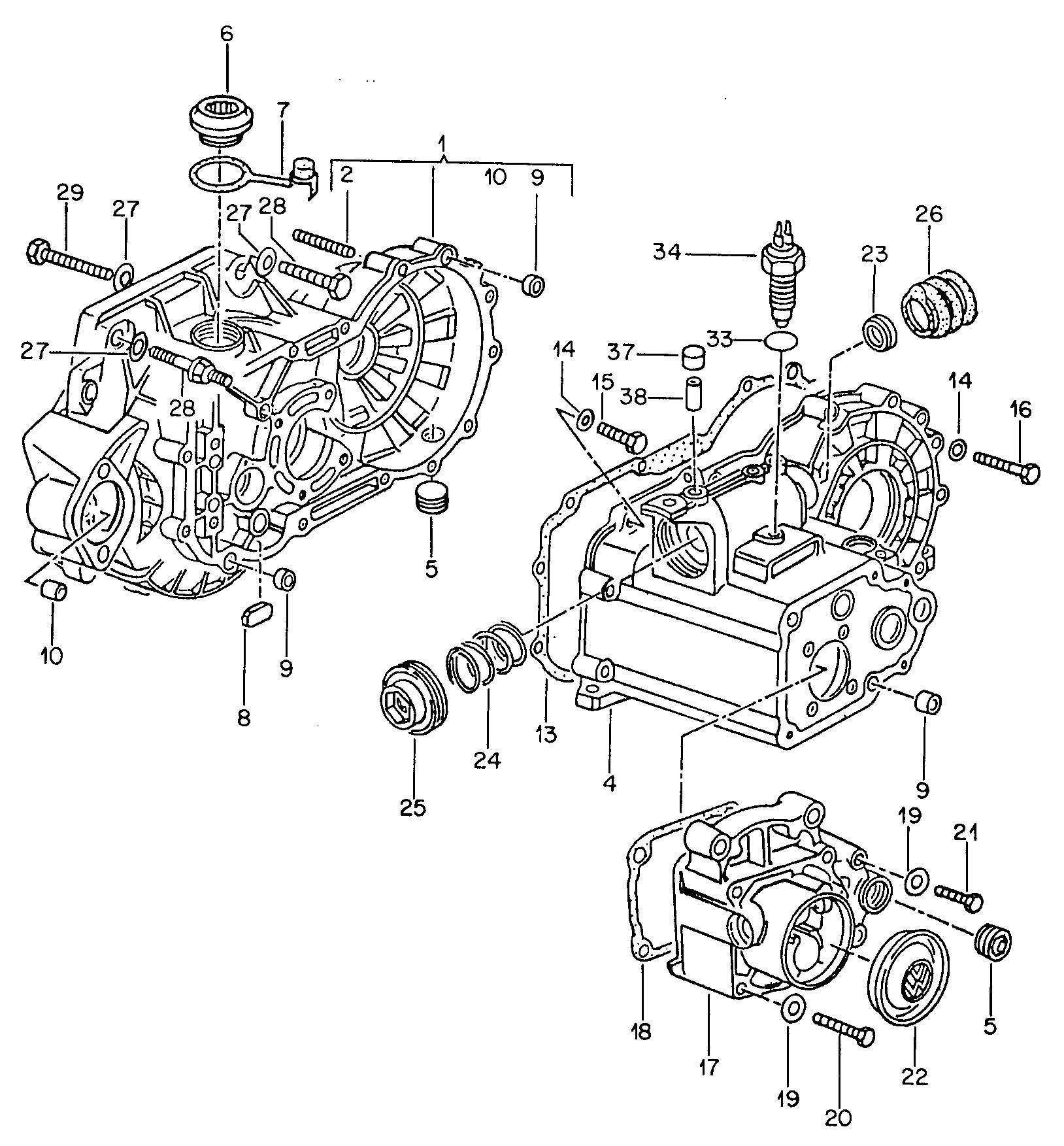 volkswagen beetle transmission diagram  volkswagen  free