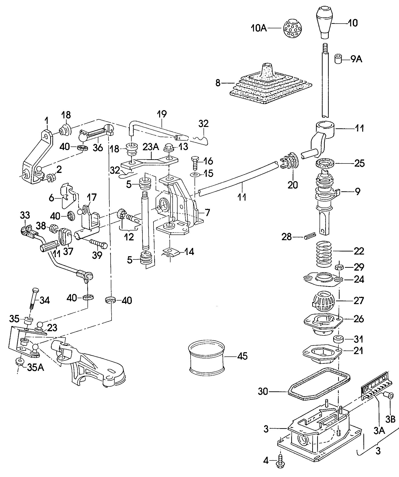 vw new beetle automatic transmission