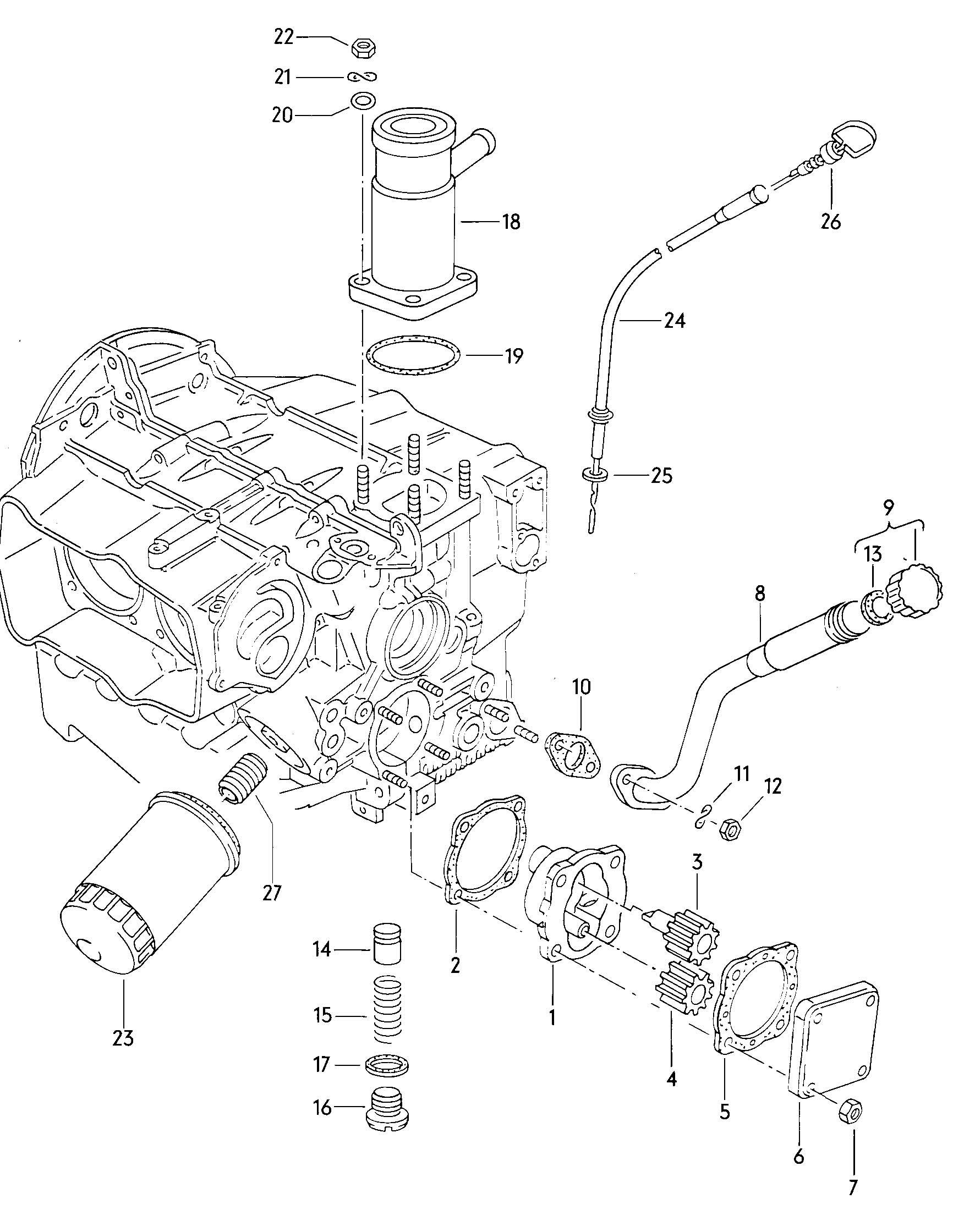 1982 volkswagen vanagon oil filler tube also use   filler pipe