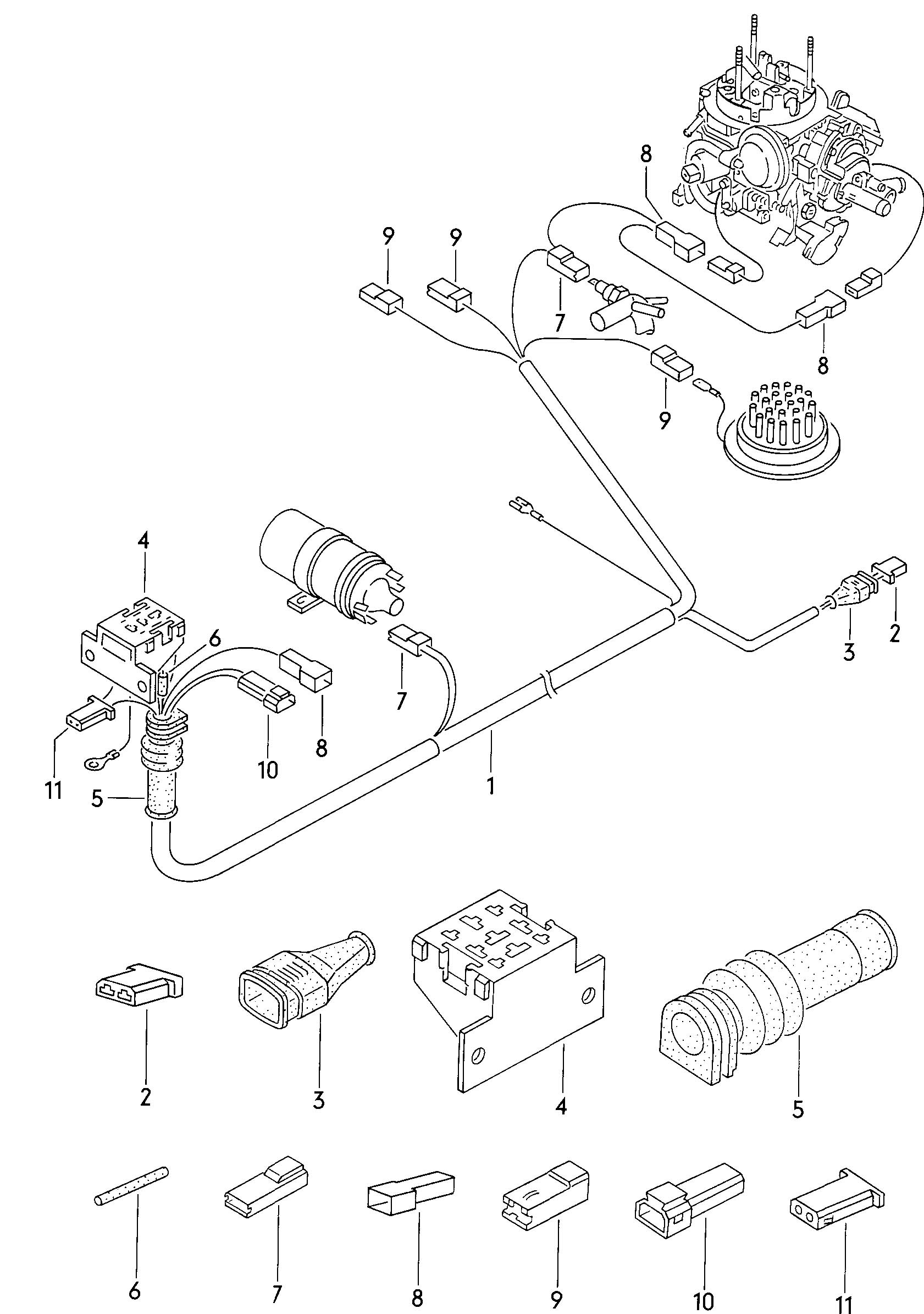 1971 Vw Beetle Parts Diagram Wiring Diagrams 1970 Harness Super Kits