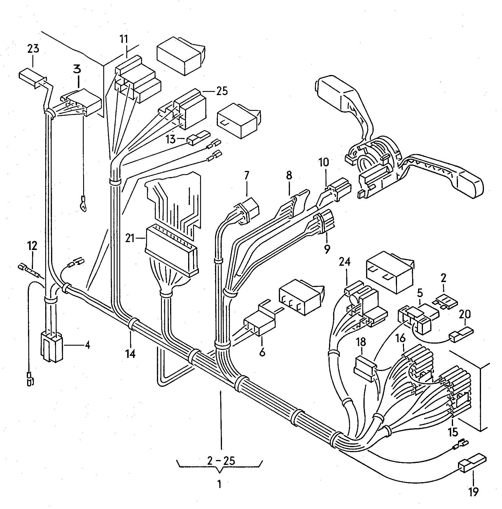 Vw Vanagon Car Radio Engine Diagram And Wiring Volkswagen Eurovan Fuse Box Showassembly On