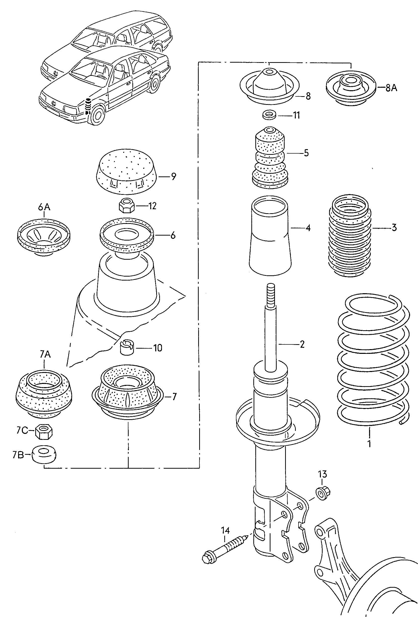 vw touareg parts catalog