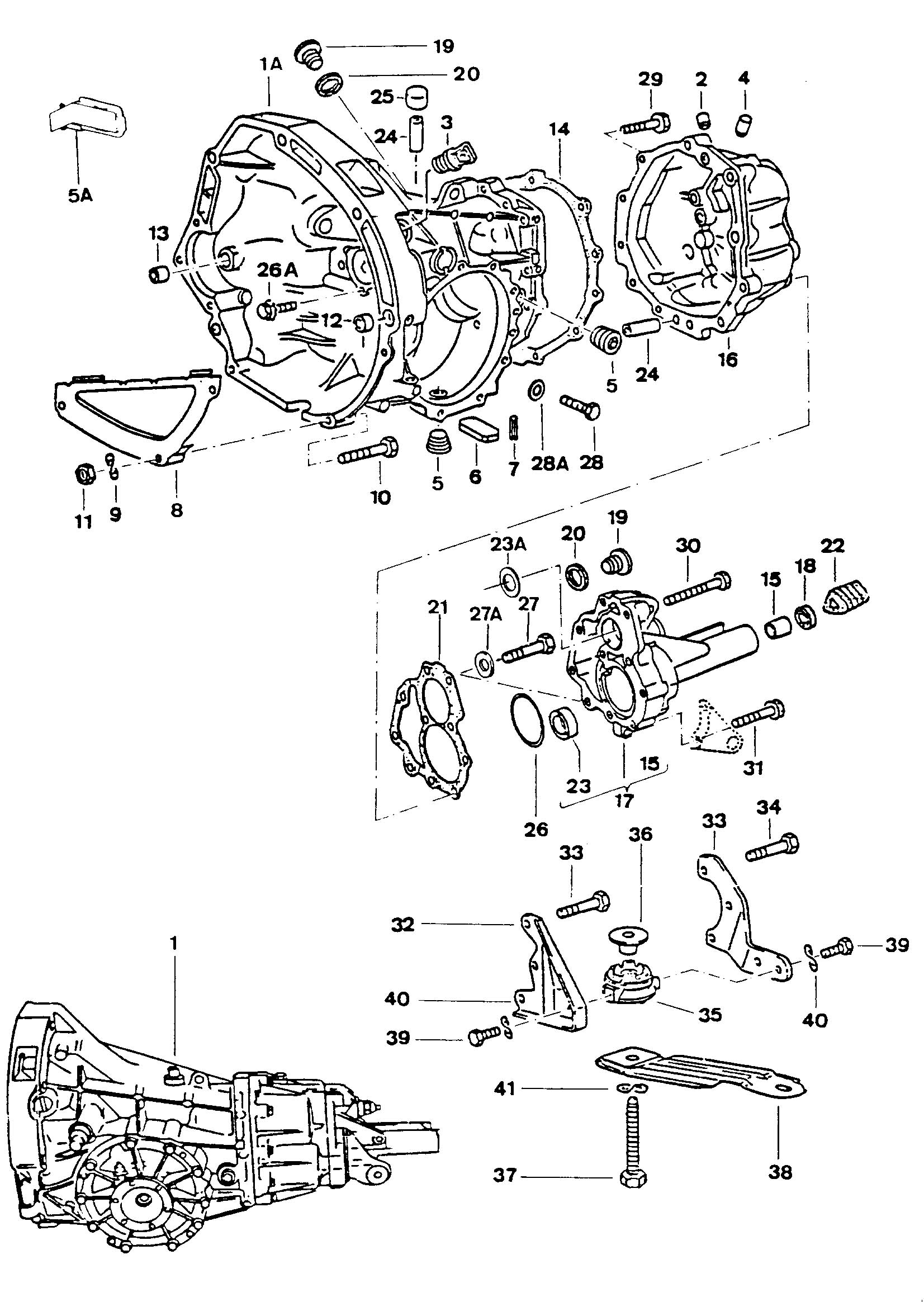 toyota corolla manual shifter parts