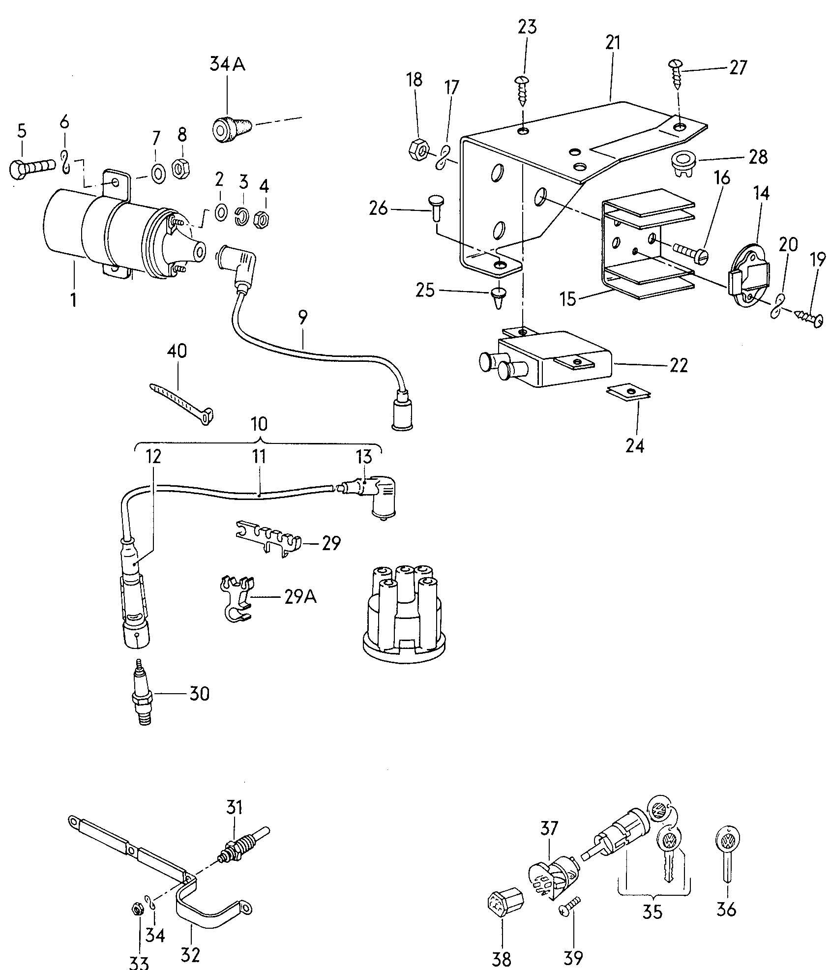 1987 vw vanagon engine diagram  diagram  auto wiring diagram