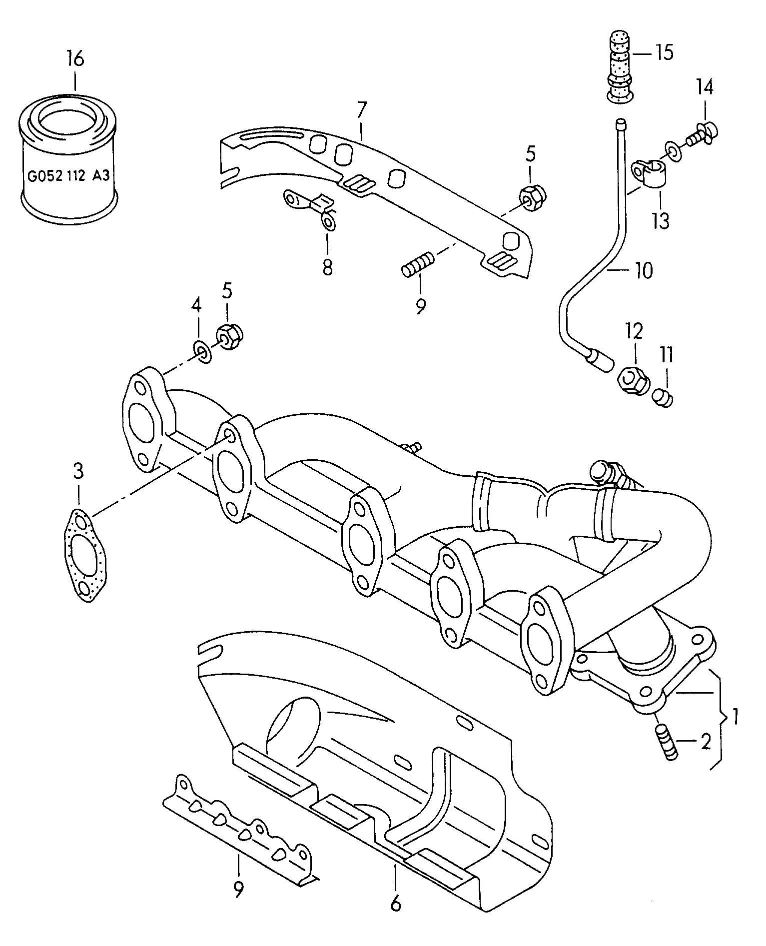2002 isuzu trooper exhaust system