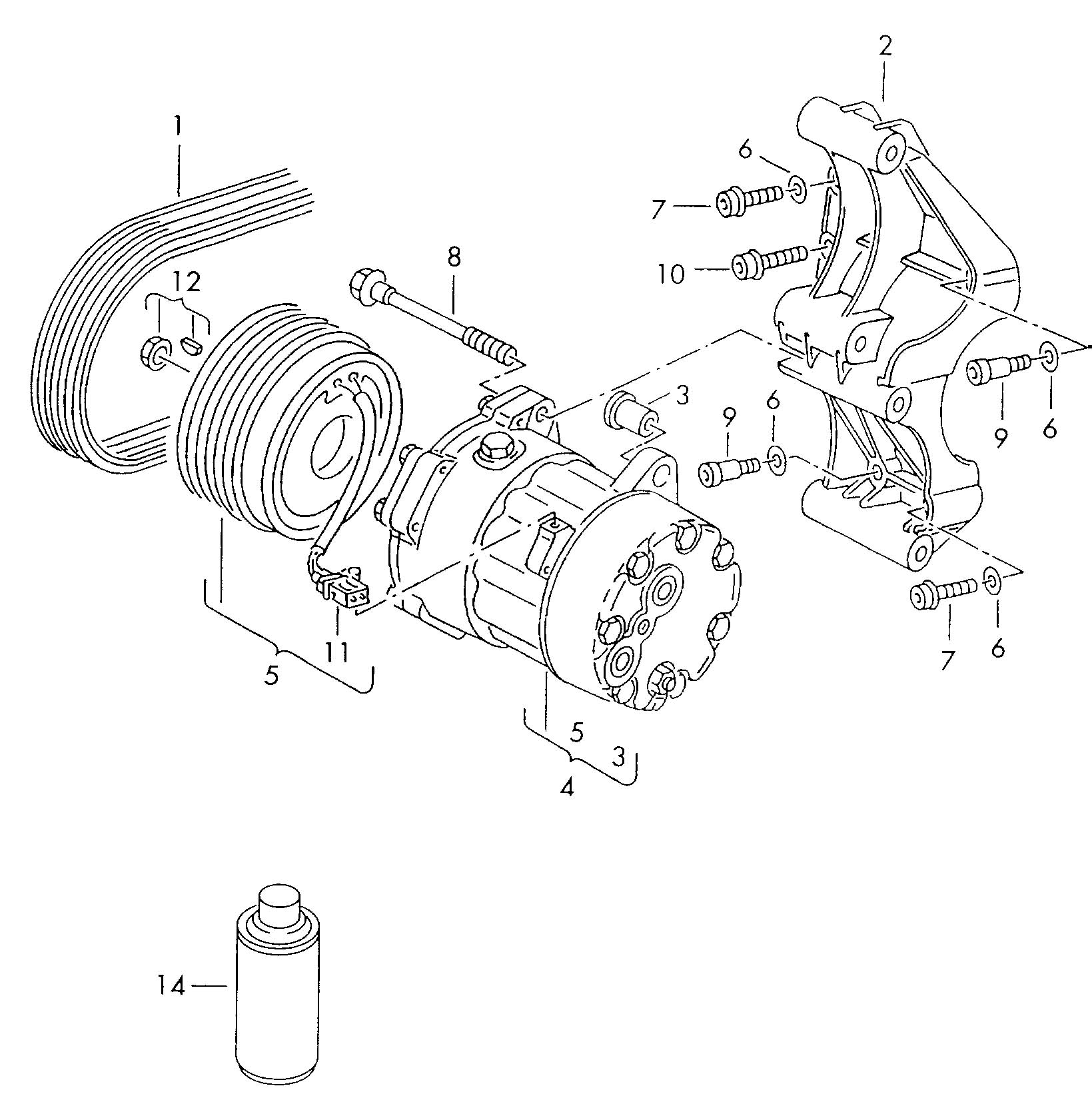 vw jetta ac parts diagram auto wiring  diagram  auto