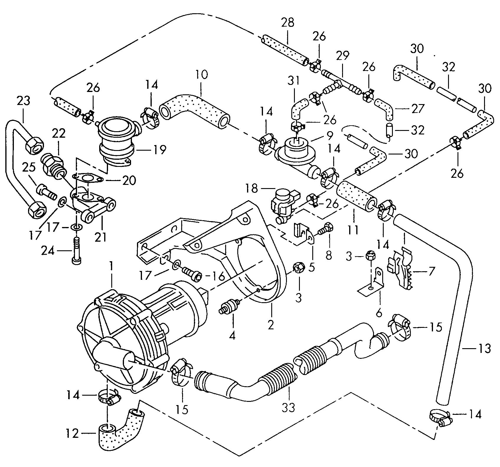 volkswagen 2002 cabrio 2 0 engine diagram