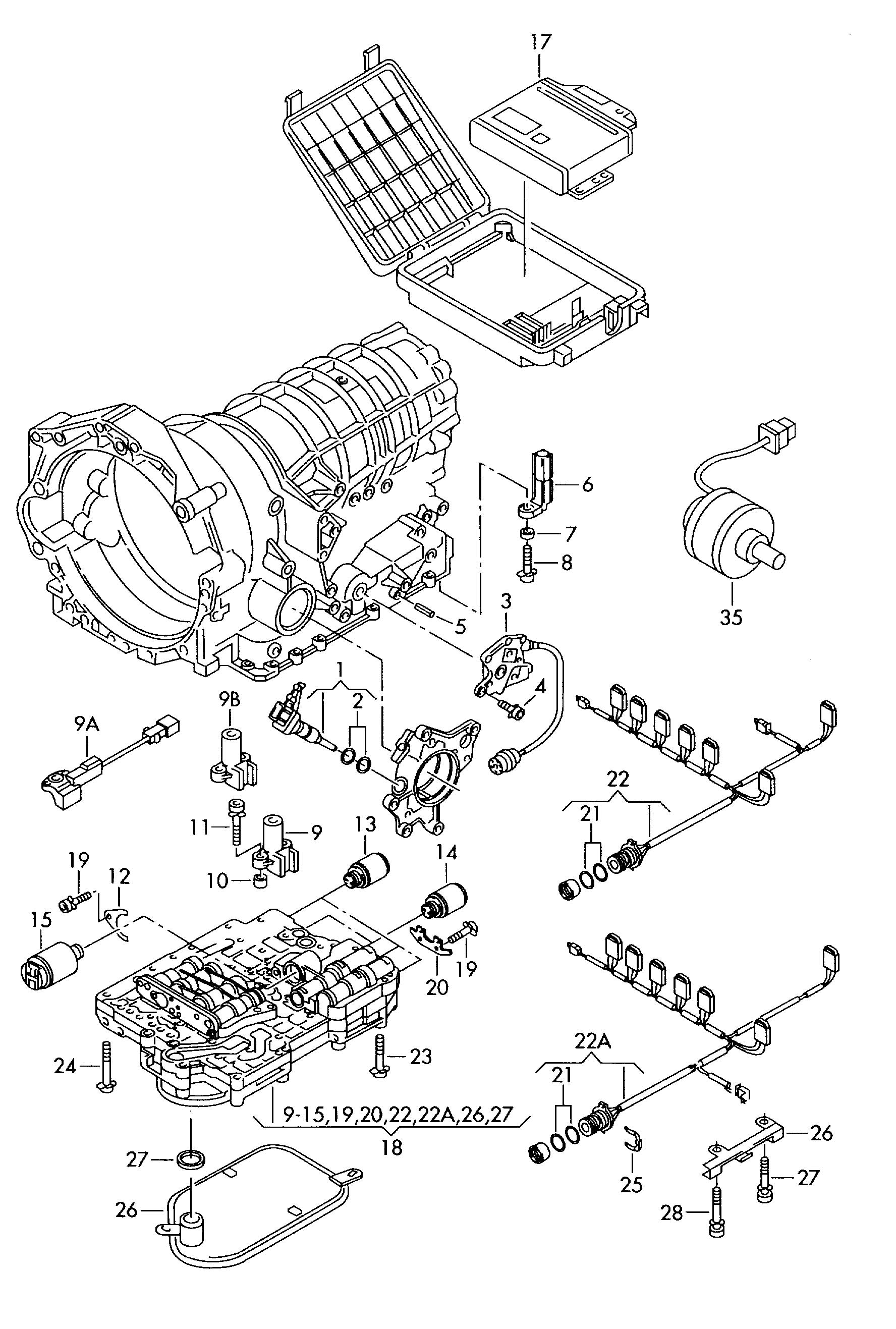 tiguan transmission diagram  tiguan  free engine image for