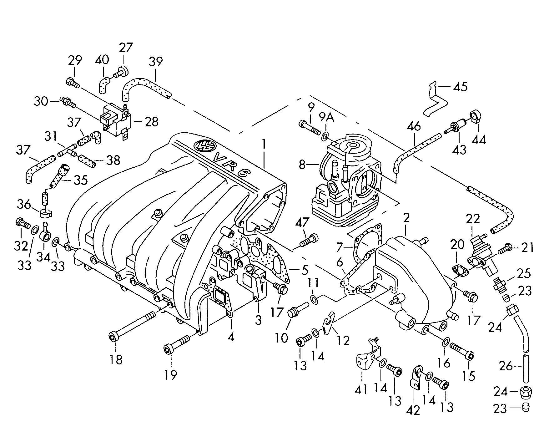 1996 volkswagen pat wiring diagrams  volkswagen  auto