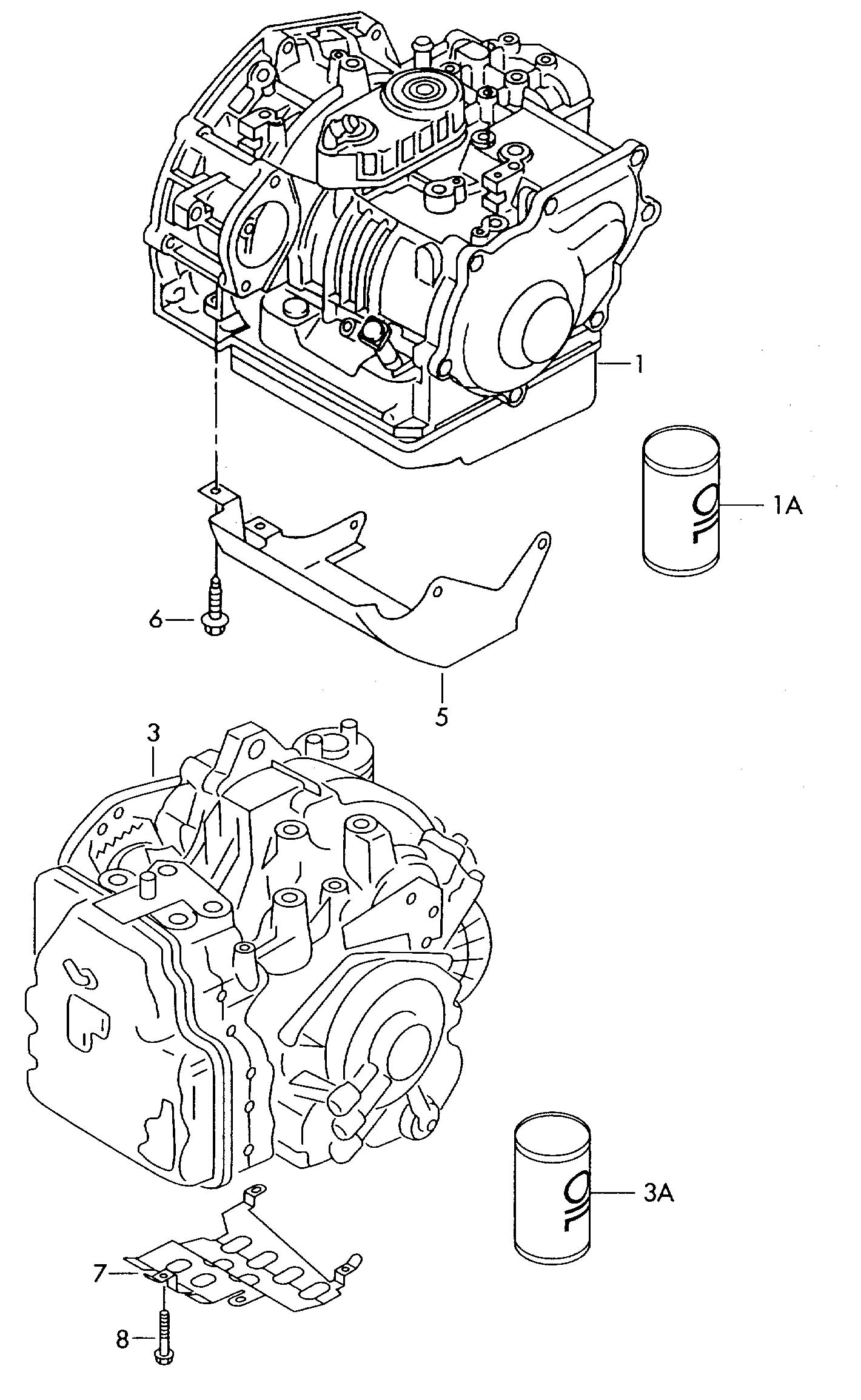 Volkswagen Jetta 5 Speed Automatic Transmission  5 Speed