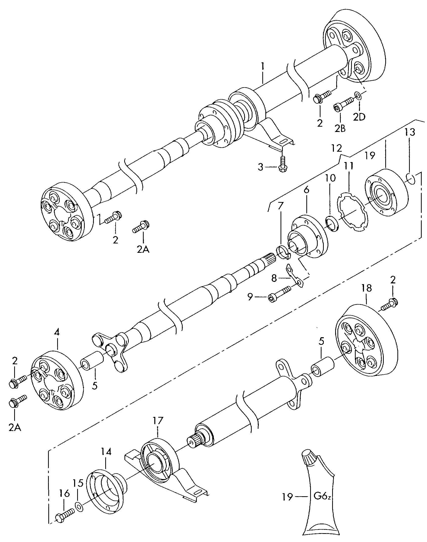 1J0521127A     Volkswagen    Steering coupling Propeller   Jim