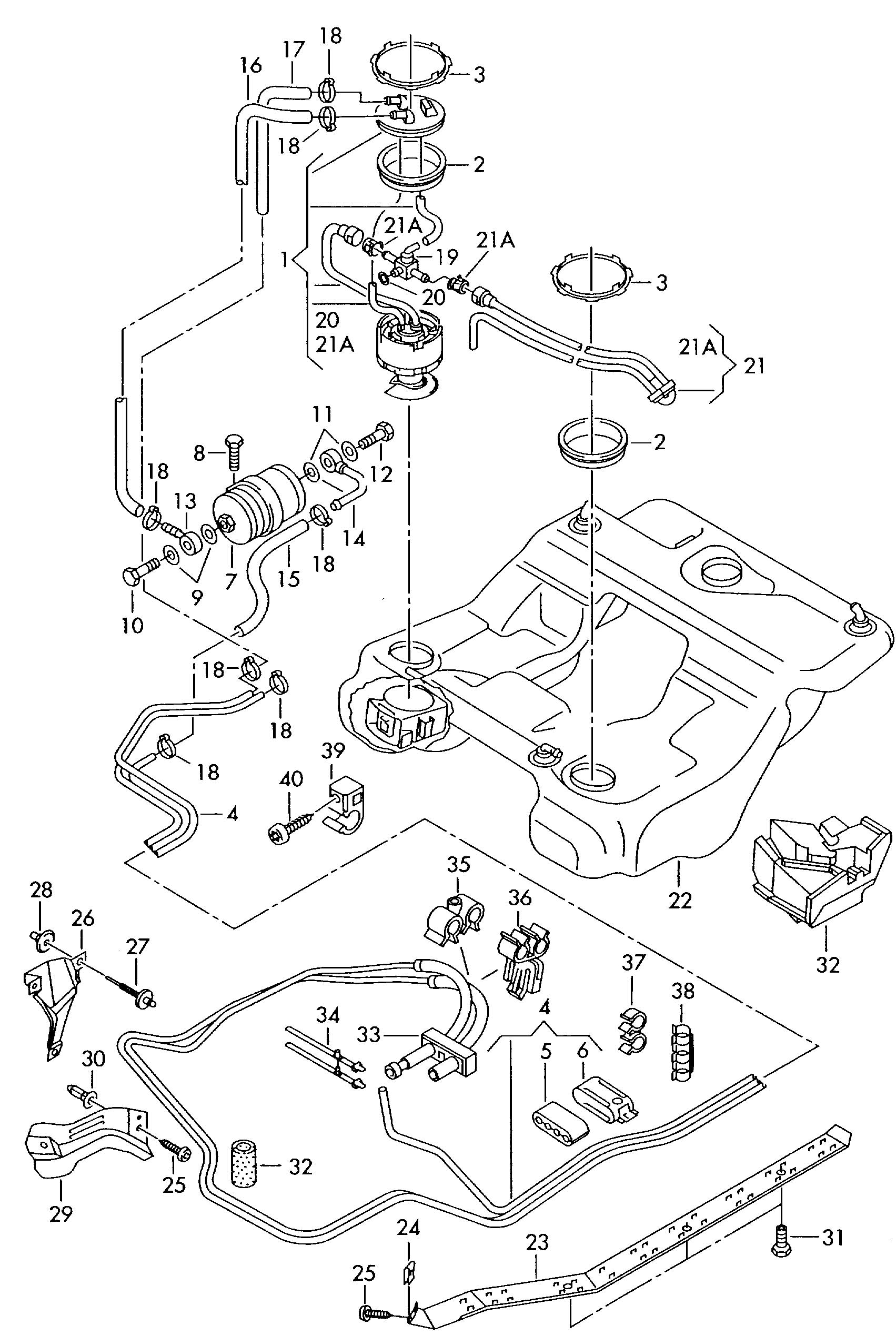 vw parts fuel lines  vw  free engine image for user manual