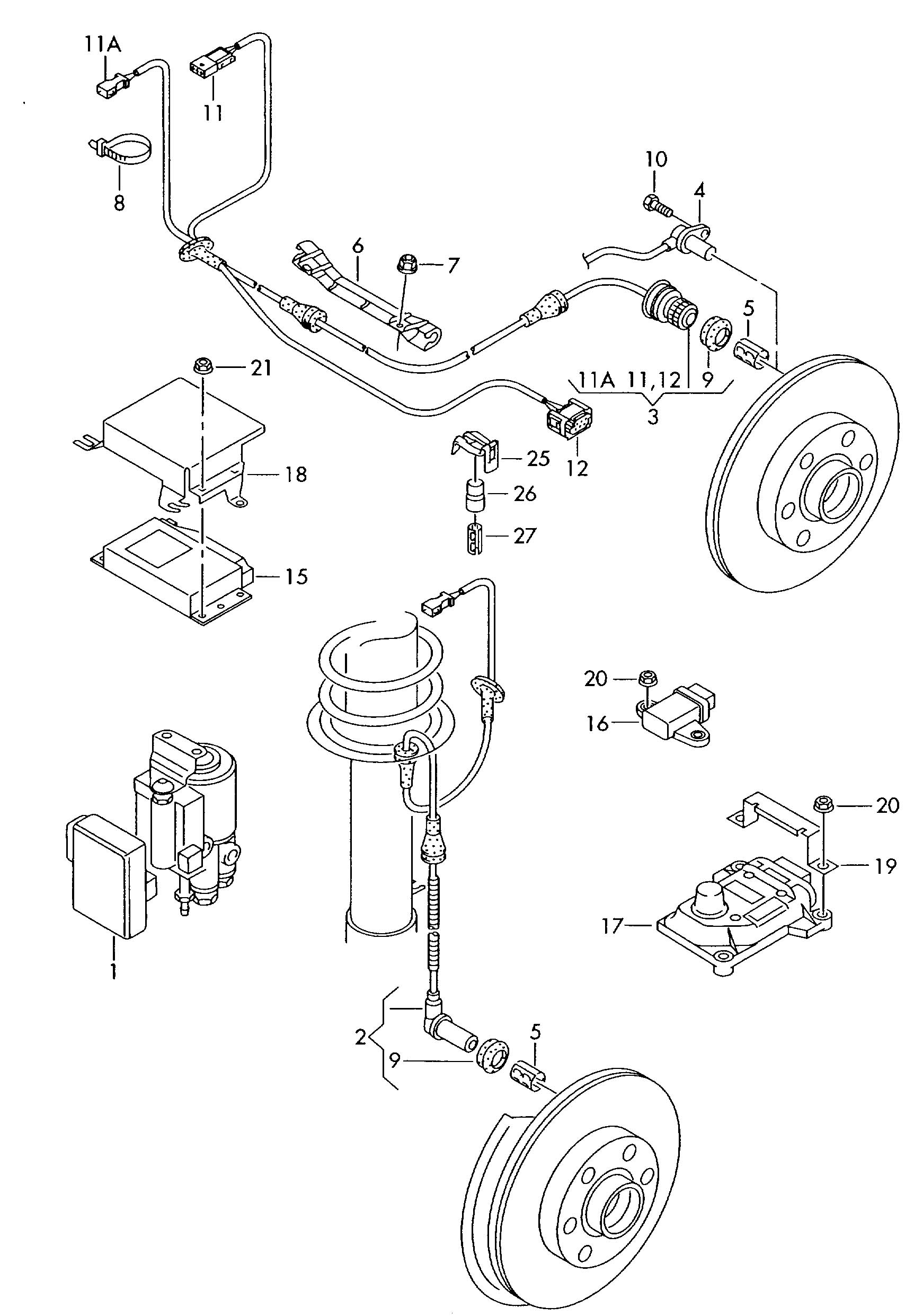 Vw Passat Abs Module Repair - Engine Diagram And Wiring Diagram