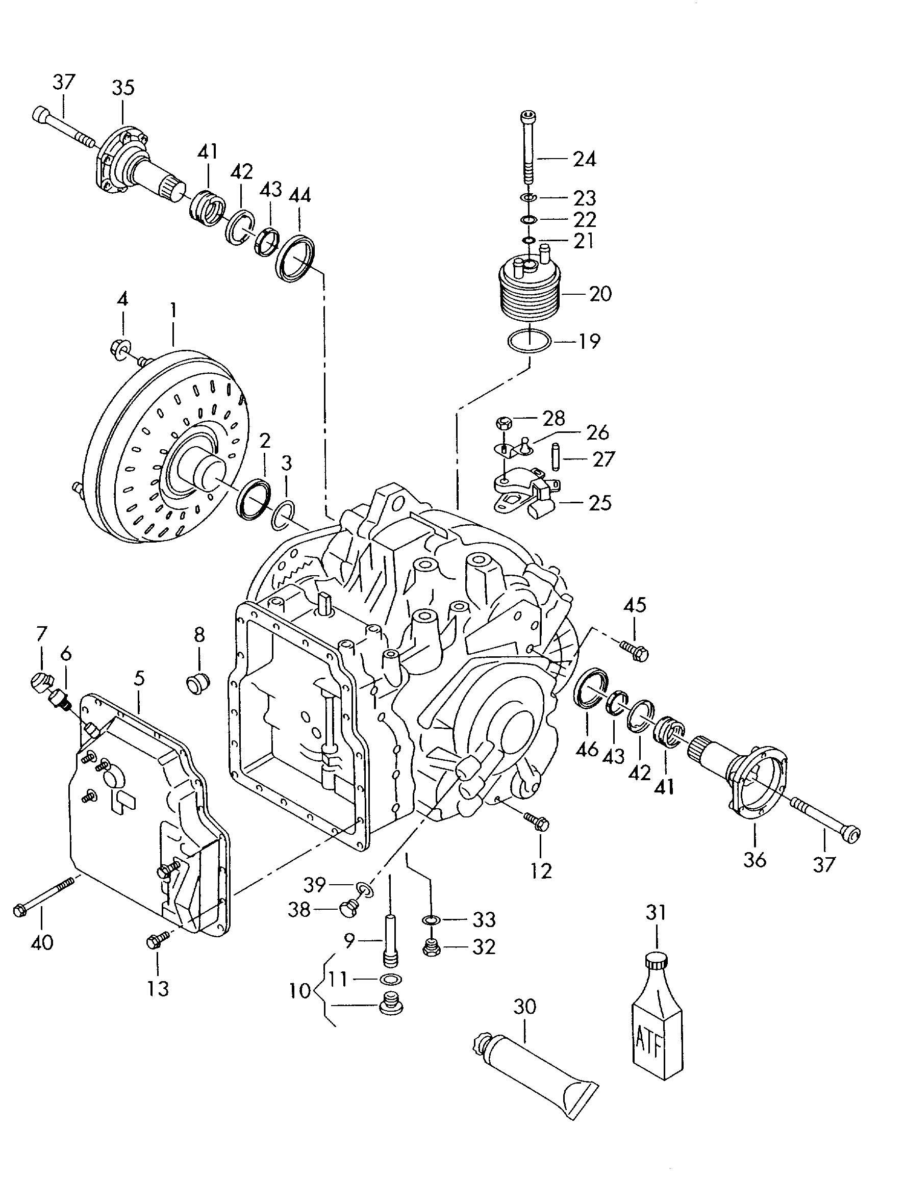 vw tiguan automatic transmission
