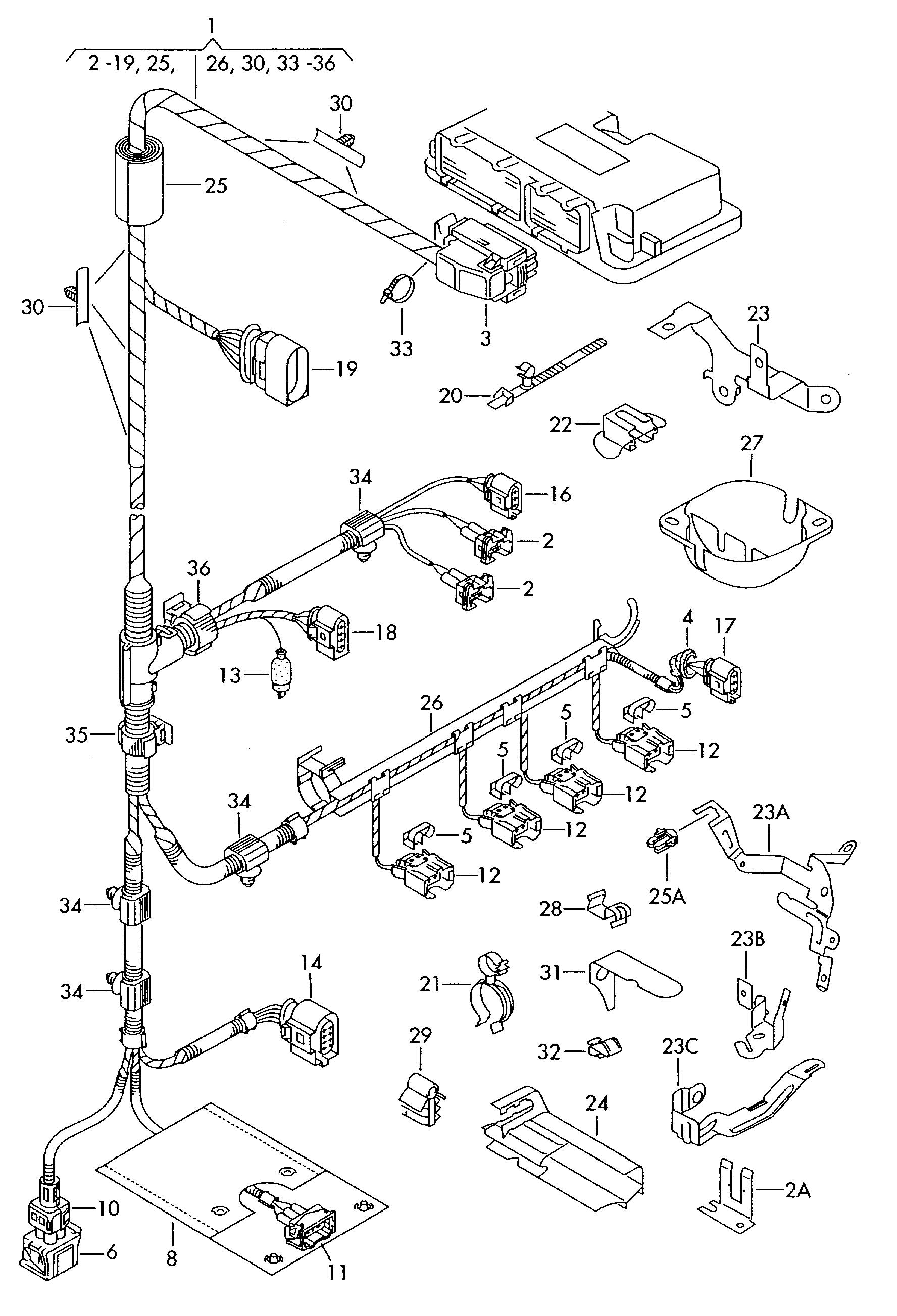 harness for engine single parts also use  also use