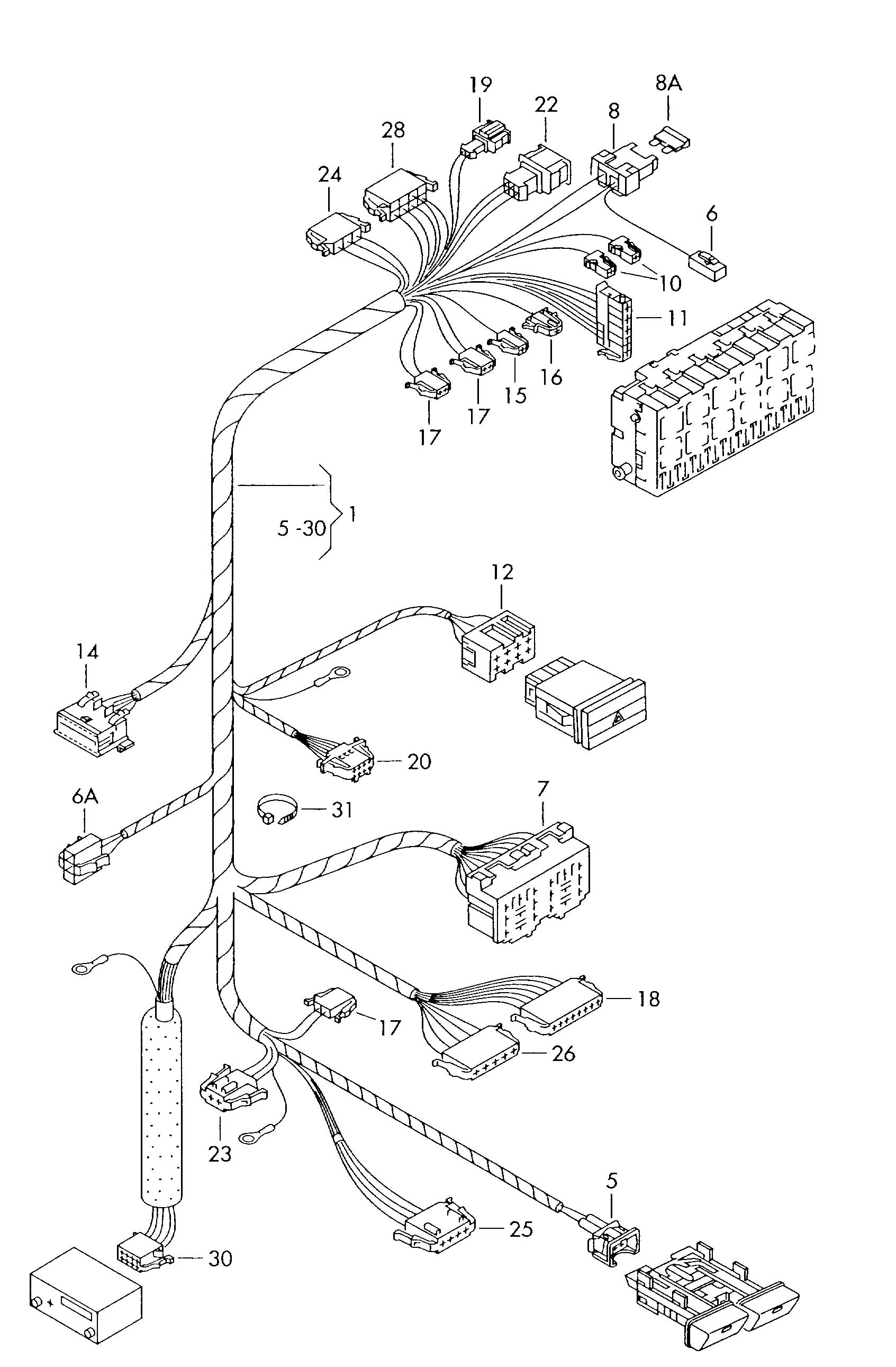 wiring diagrams   new beetle window relay location