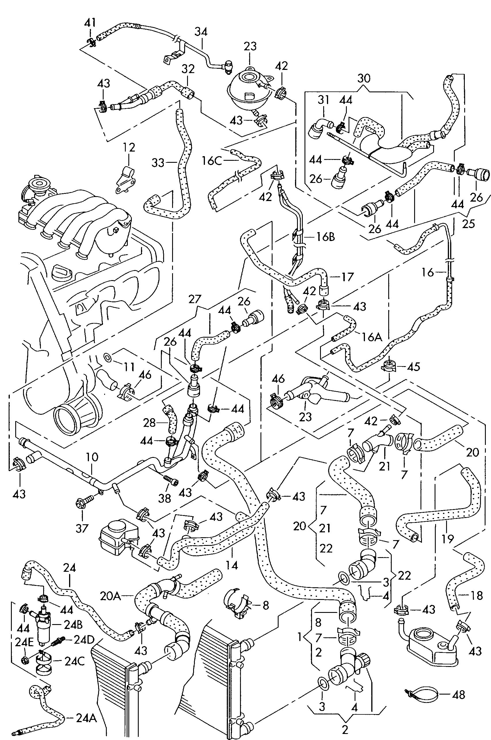 2006 Volkswagen Passat Fuse Box Diagram also 2003 Vw Jetta Tdi Fuse Diagram Html likewise Showthread as well Vw Passat Wiring Diagram 2008 Efcaviation 2009 Jetta Tdi Fuse additionally Volkswagen Beetle Tdi 1 9l Serpentine Belt Diagrams. on 2003 vw beetle engine diagram