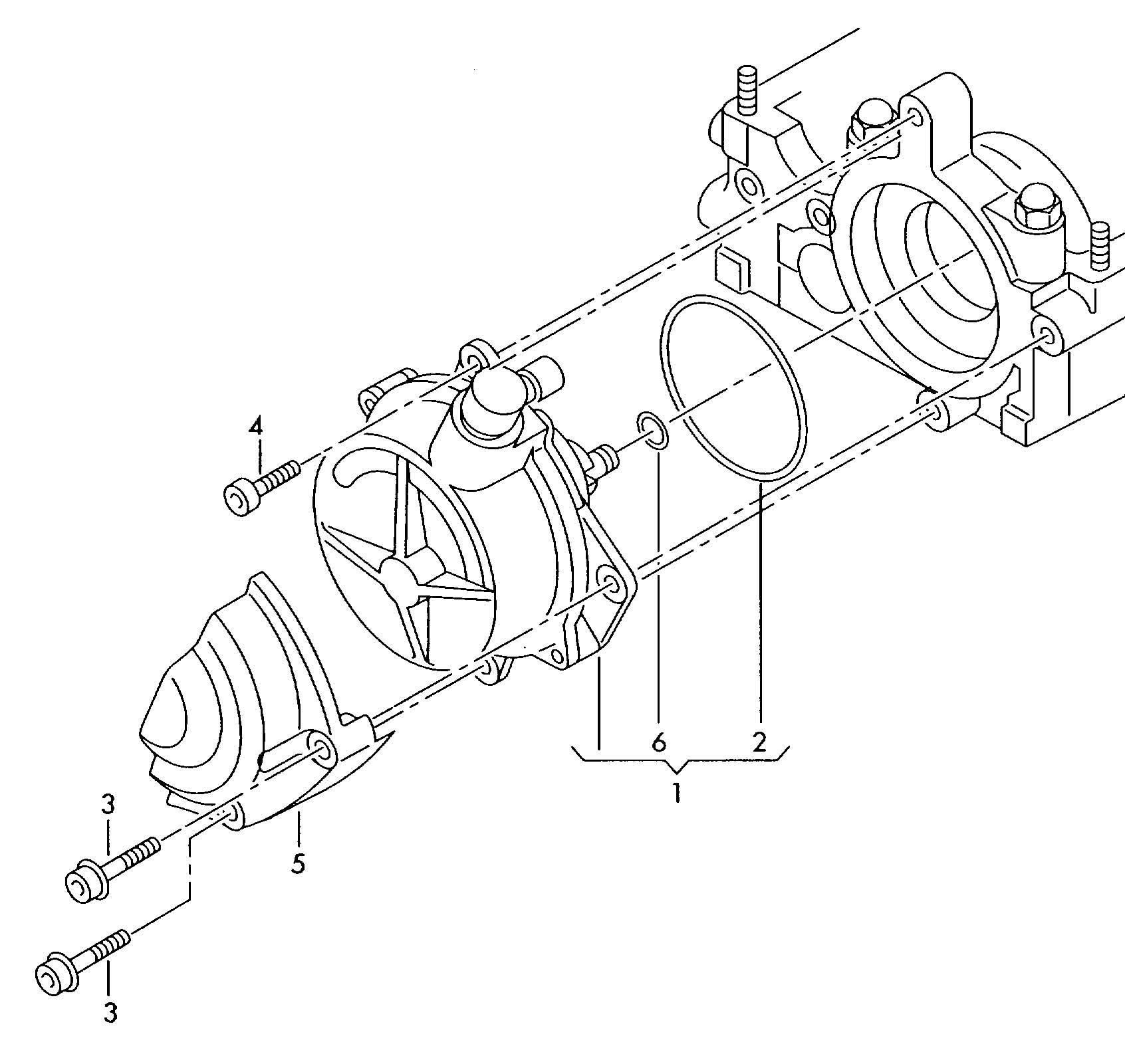 Volkswagen Atlanta: Volkswagen Jetta Vacuum Pump - 06D145100H