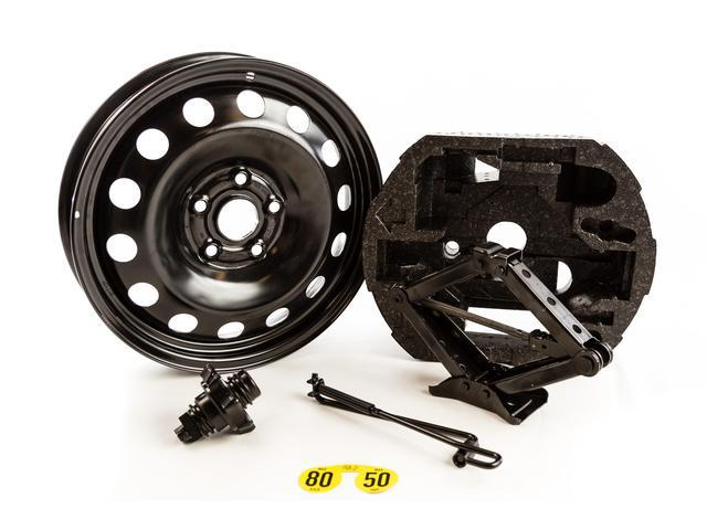 Diagram Spare Tire Kit (Excludes Tire) - Black (NPN071053) for your Volkswagen (VW) Beetle