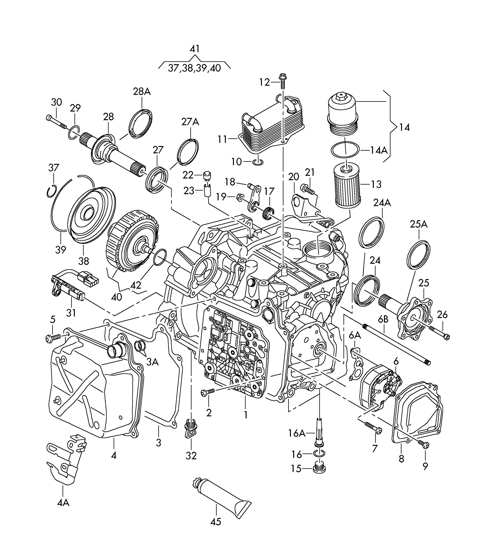 2003 Volkswagen Golf Transmission: Oil Leak On 3.2