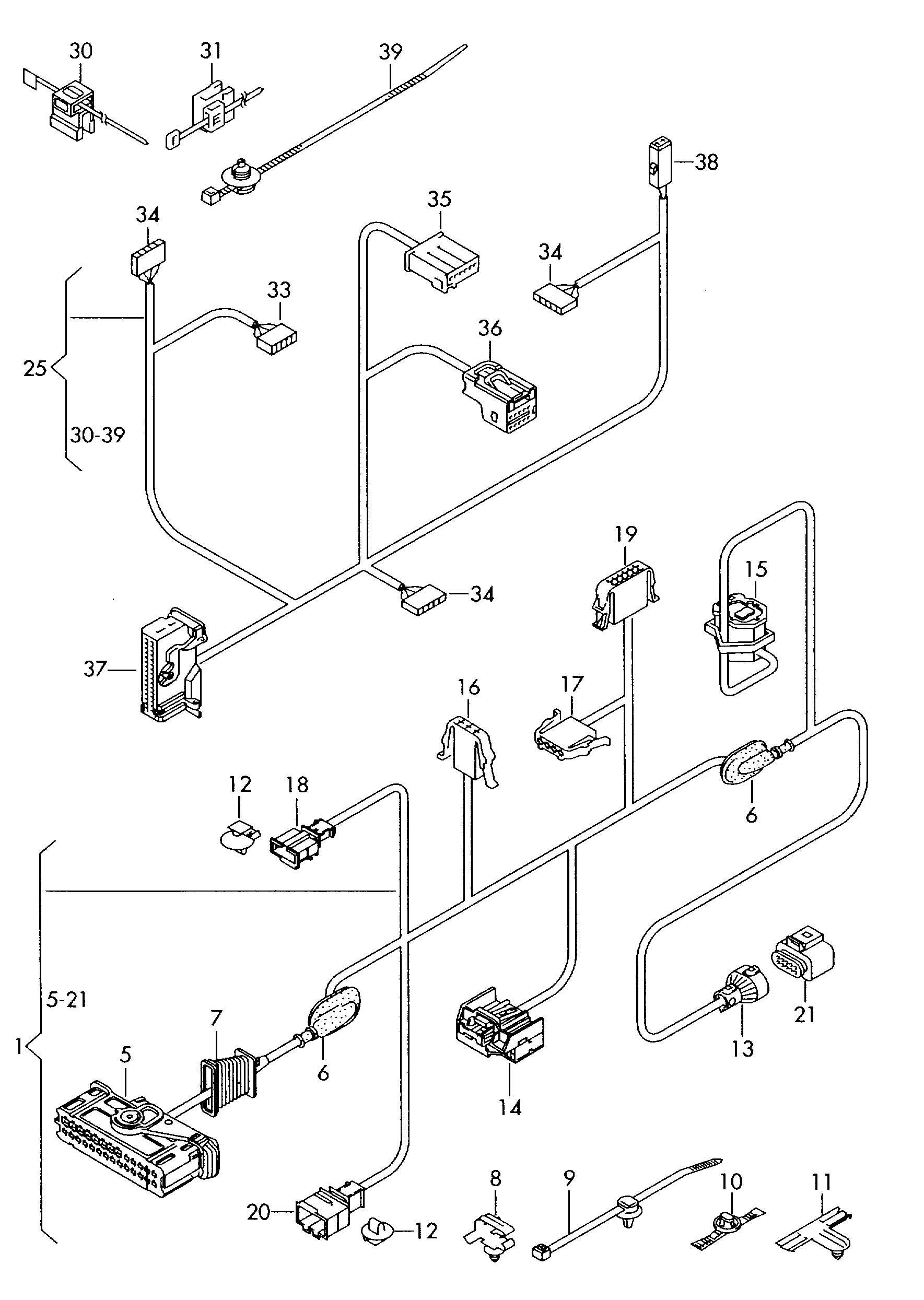 28 2006 Vw Jetta Door Wiring Harness Diagram