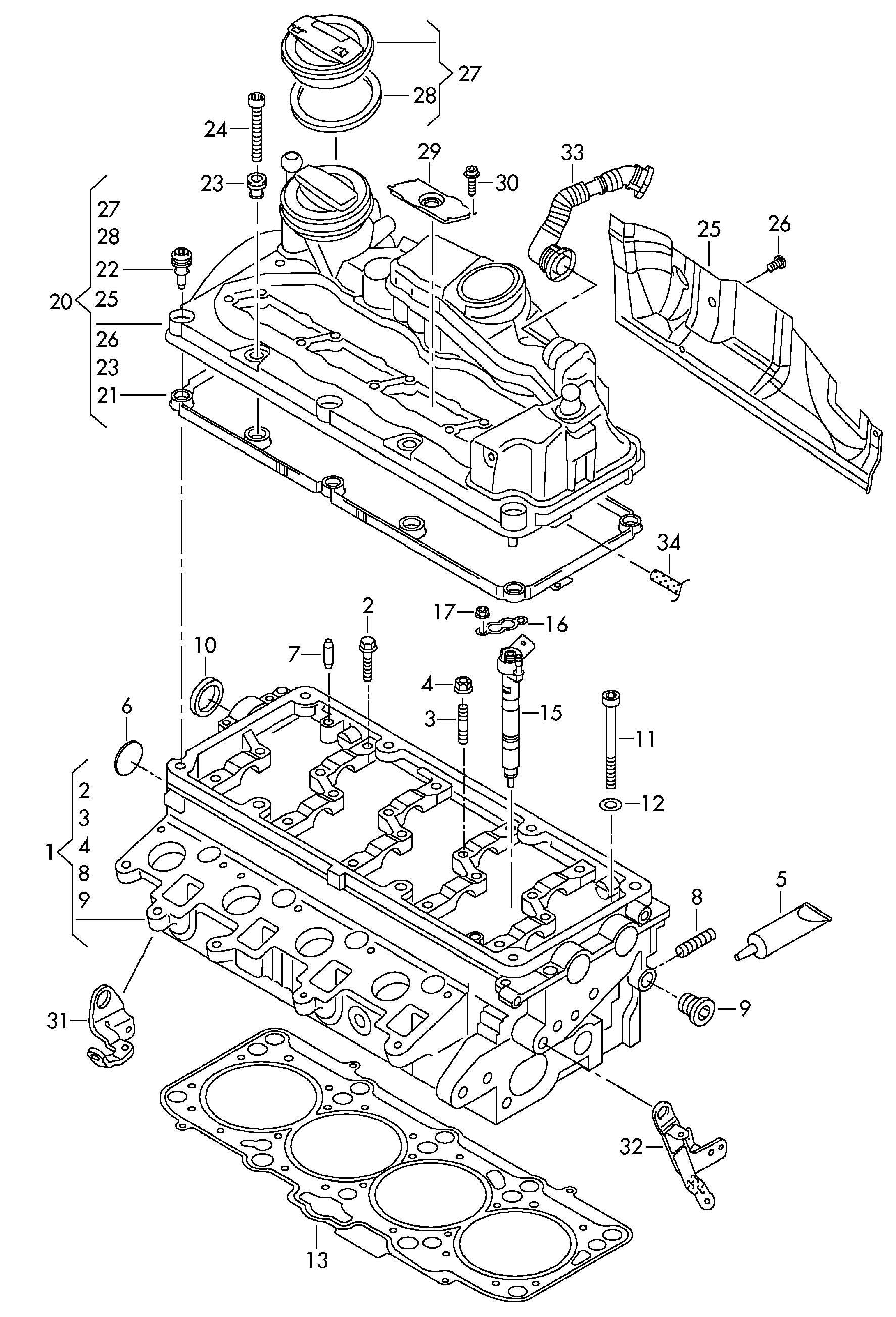 81 rabbit diesel engine