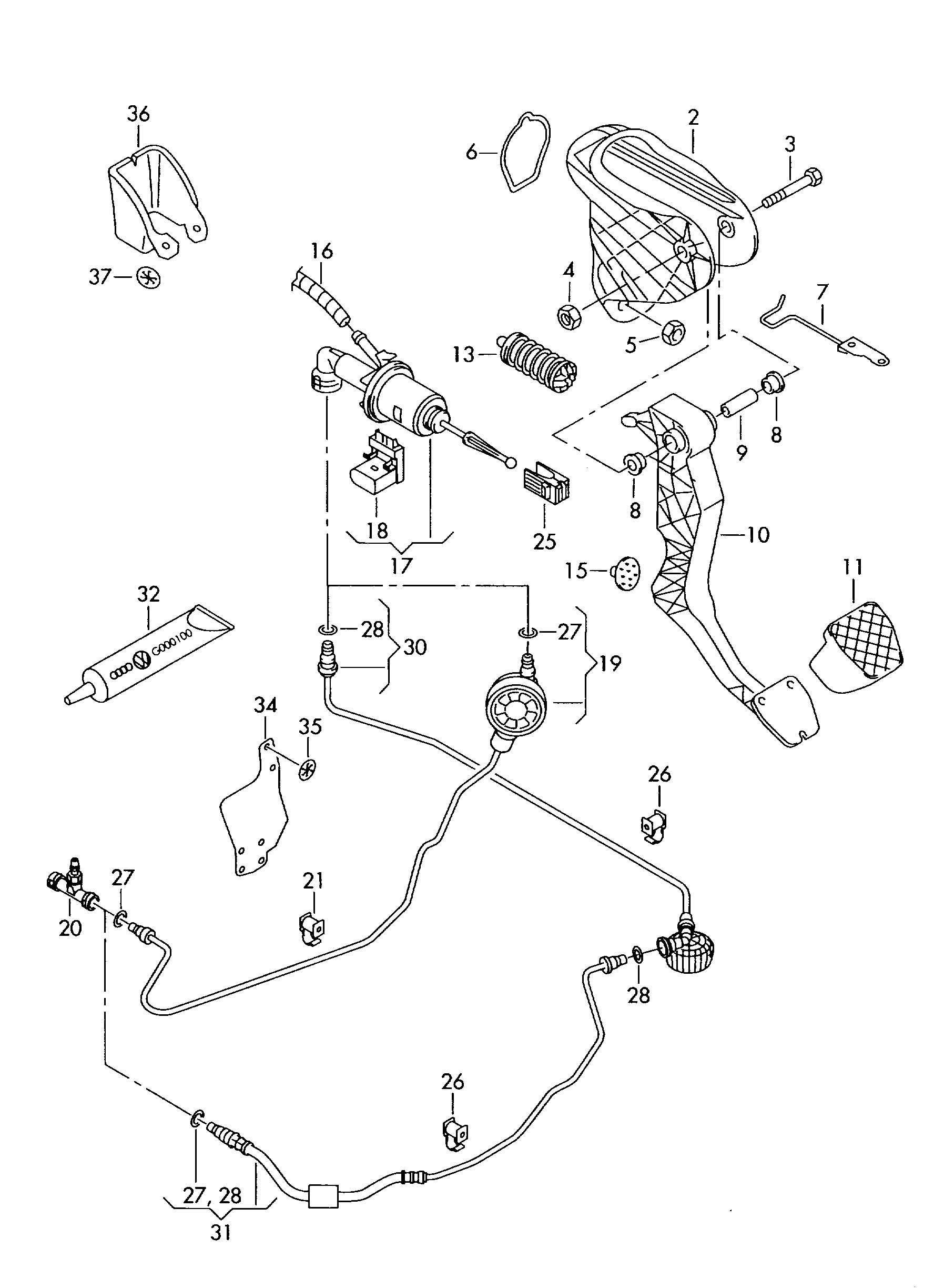 2008 volkswagen eos parts manual