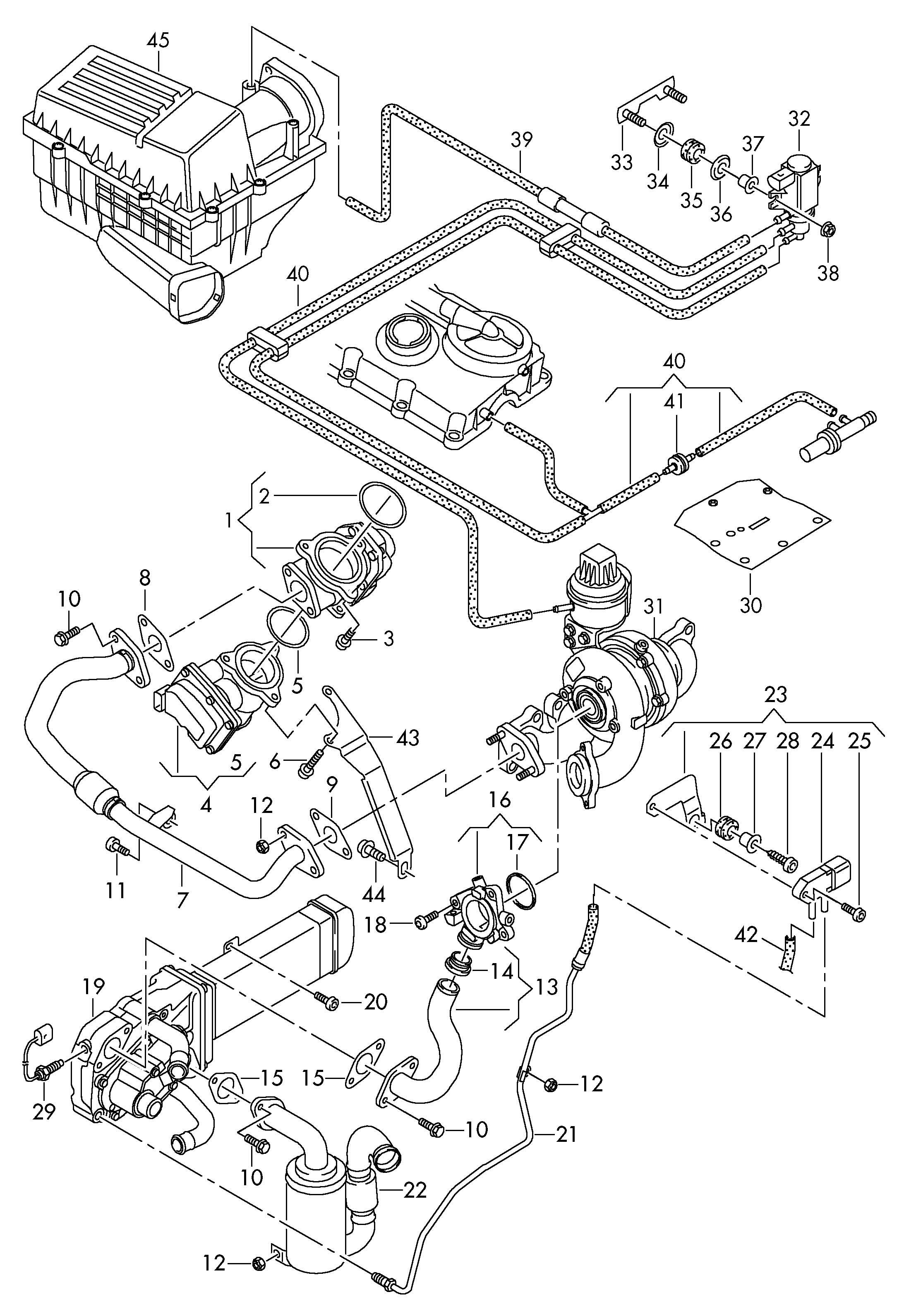 volkswagen rabbit cooler for exhaust recuperation  exhaust
