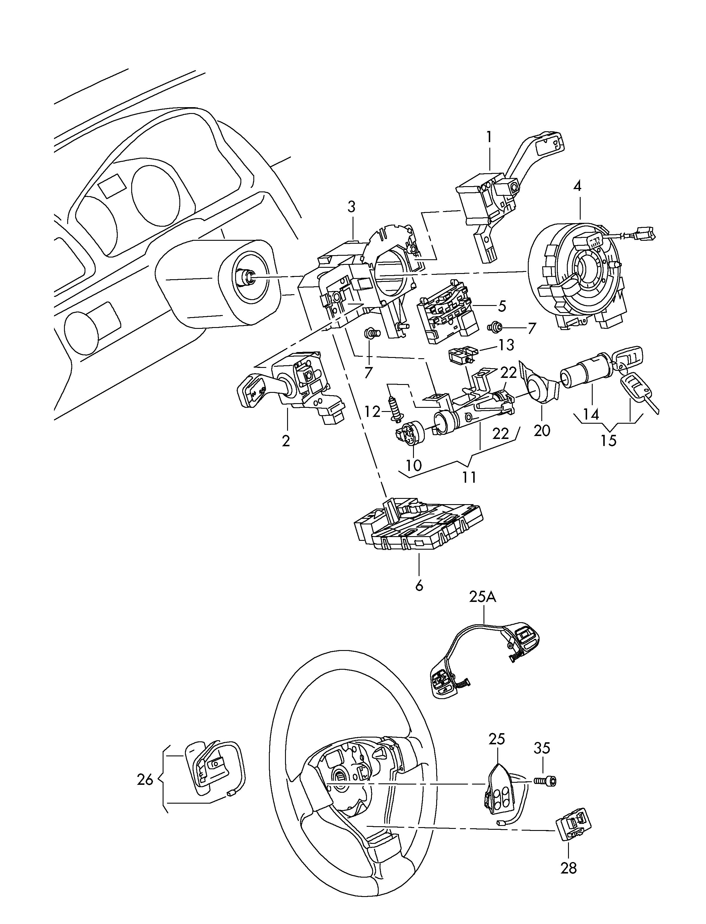 volkswagen rabbit ignition switch wiring diagram
