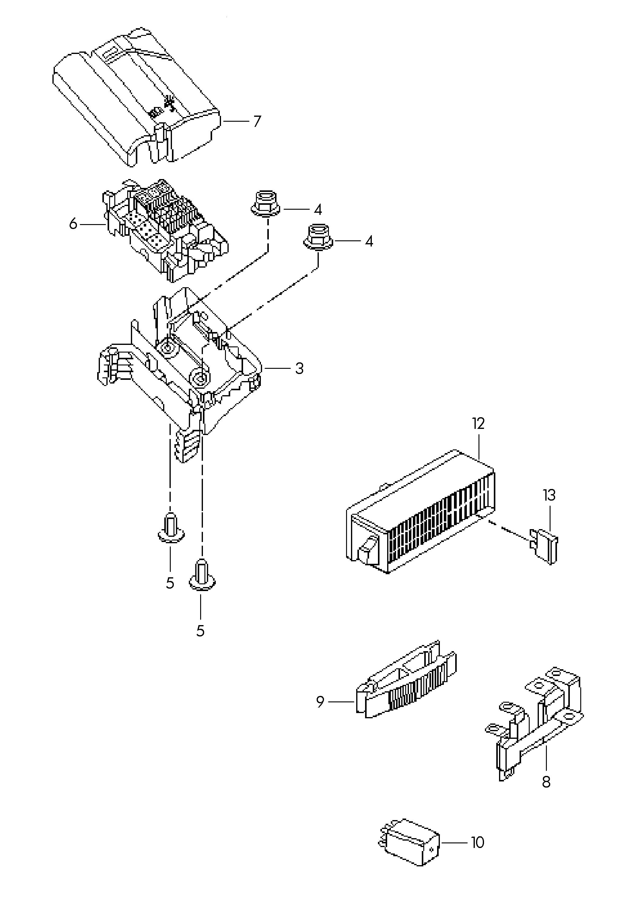 2012 volkswagen jetta multi-fuse  fuses  multifuse