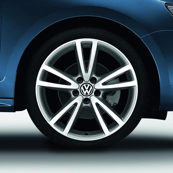 Volkswagen Atlanta: 1K50714971ZL - Volkswagen VW Silver