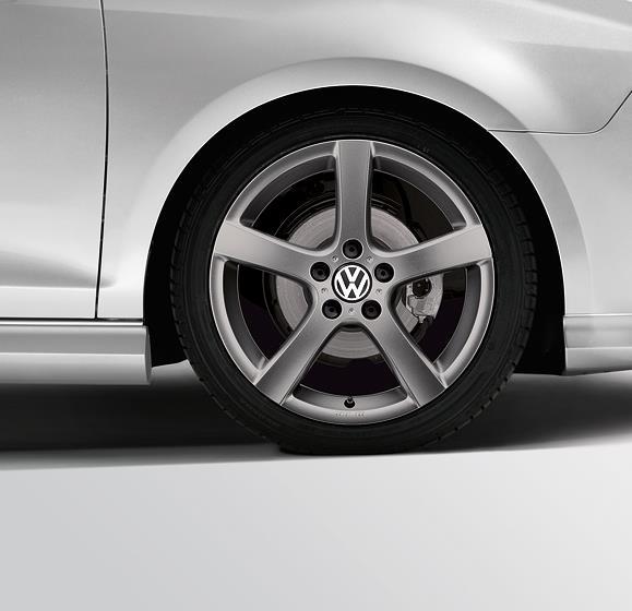 Volkswagen Atlanta: Volkswagen Jetta 17 Goal Wheel - 1T4071497SS8