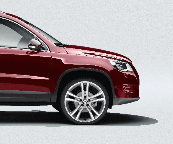 Volkswagen Atlanta: Volkswagen Tiguan 19 Savannah Wheel. Accessories
