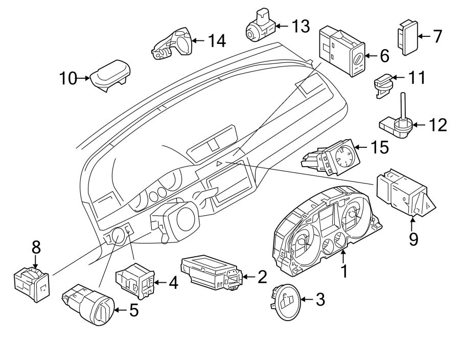 Print further Hhr Wiring Harness moreover How To Read The Dashboard Lights 1370 moreover Watch moreover 2009 Volkswagen Eos Brake Replacement System Diagram. on 2012 vw beetle instrument cluster