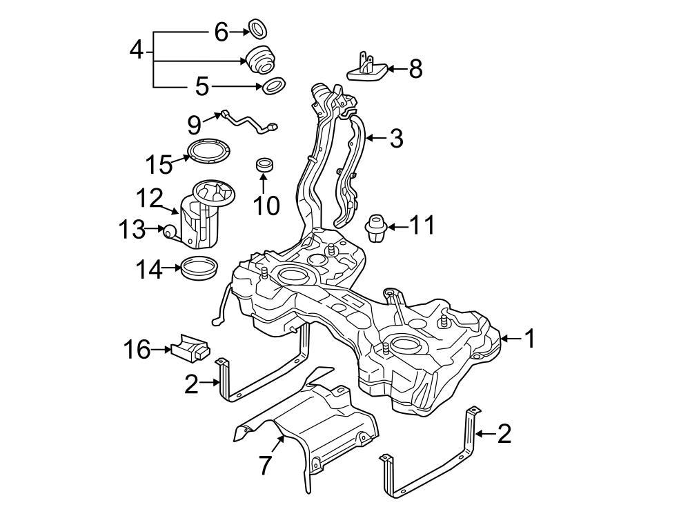 Volkswagen Golf Fuel Gauge Sending Unit Fuel Sender Unit