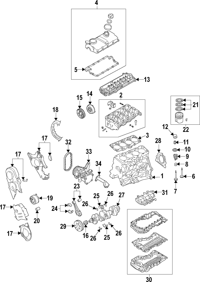 Volkswagen Jetta Engine Variable Valve Timing (VVT) Oil ...