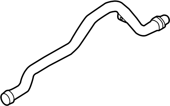 volkswagen touareg water tube  water pipe