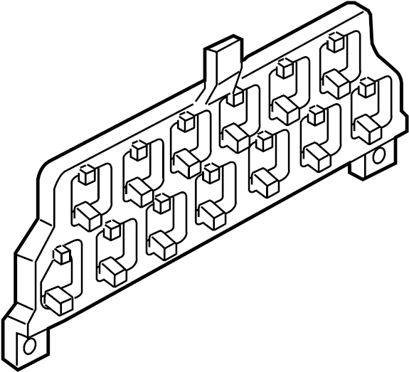 Ford Truck Fuse Panel Diagram