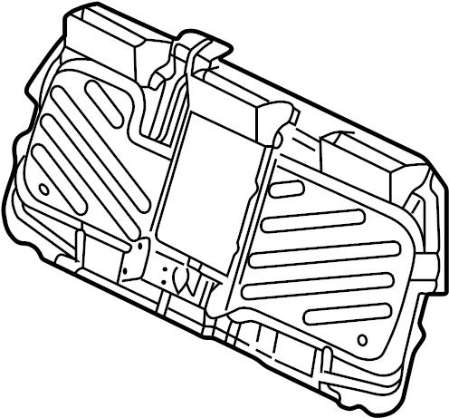 Toyota Prius Engine Compartment