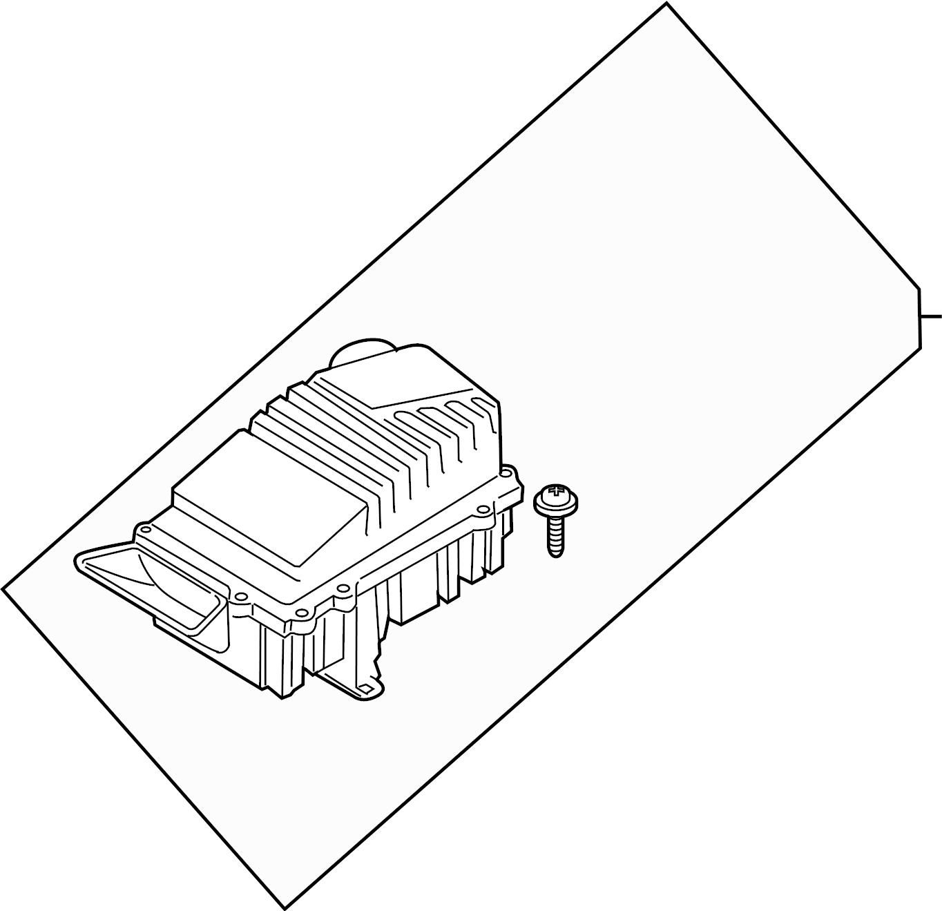 volkswagen golf air cleaner for vehicle use in cold