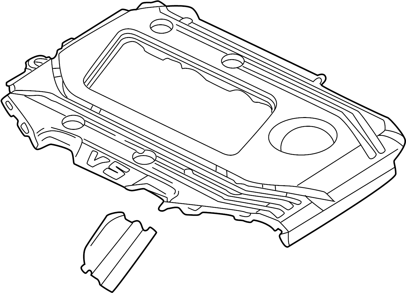 Volkswagen Jetta Variant Cover For Intake Manifold