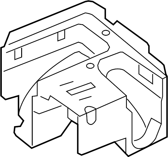 volkswagen jetta bracket - relay plate  fuse box  bracket relay plate